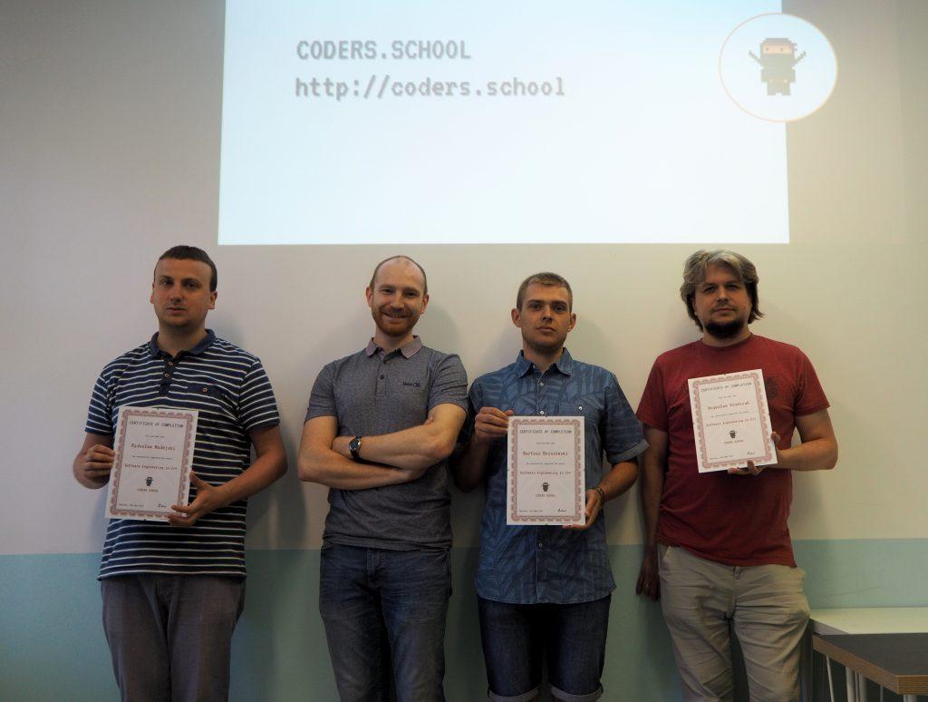 Kurs C++ zakończony! Oto pierwsi absolwenci.